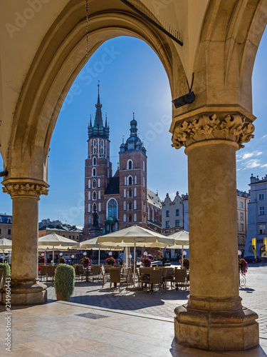Photo Stands Krakow Krakau - Marienkirche
