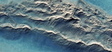 fale na pustyni, turkus, abstrakcyjna fotografia pustyni Afryki z powietrza, magiczna fotografia, po prostu szalony, artystyczny, krajobrazy twojego umysłu, złudzenia optyczne, sztuka abstrakcyjna, - 214966213