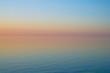 Calm evening sunset over Baltic sea. Latvia