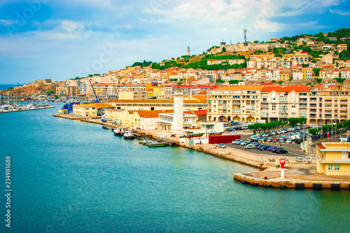 Foto op Plexiglas Schip Port of Sète, France