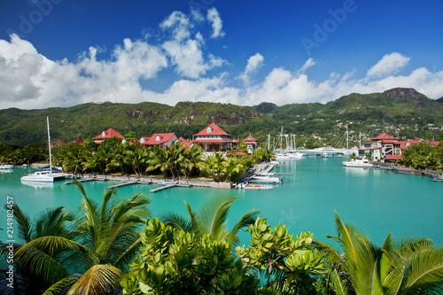 Mahé, Seychelles. Billede på lærred