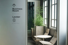 Modern Cozy Business Room Lock...