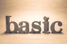 Basic Wood Word