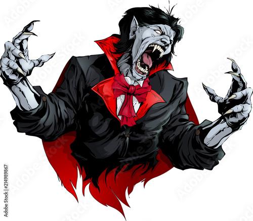 Valokuvatapetti evil vampire picture
