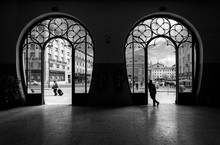 Train Station Rossio. Old City Of Lisbon. Portugal.