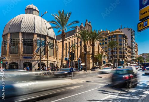 Tableau sur Toile Hiszpania Costa Blanca Alicante Mercado Central