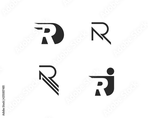 Photo  R Letter Logo Business