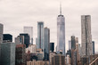 Manhattan New York City Downtown Architecture Building Usa VIew Travel Skycrapper Cityscape downtown business financial office high sky cloudy panorama panoramic america concrete