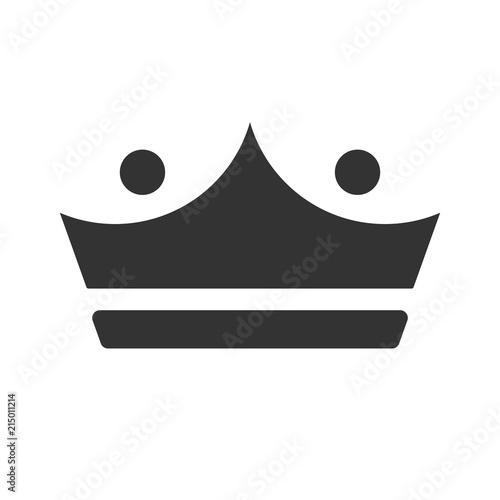 Crown logo  Kingdom Icon  Empire symbol  Vector eps 08