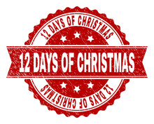 12 DAYS OF CHRISTMAS Seal Prin...