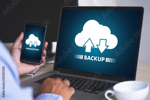 Fotomural  LIVE STREAMING Backup Download Computing Digital Data transferring , STREAMING D