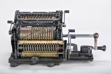 Mechanical Calculator With The Shrouds Removed