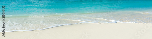 Poster Tropical plage tropical beach in Maldives