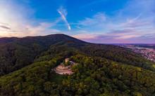 Alsbacher Schloss Morgenstimmung