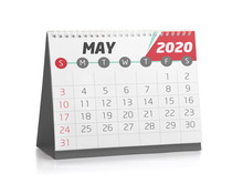 Office Calendar May 2020