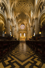 Interior Of Christ Church Cathedral, Oxford