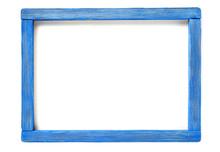 Blue Wood Frame