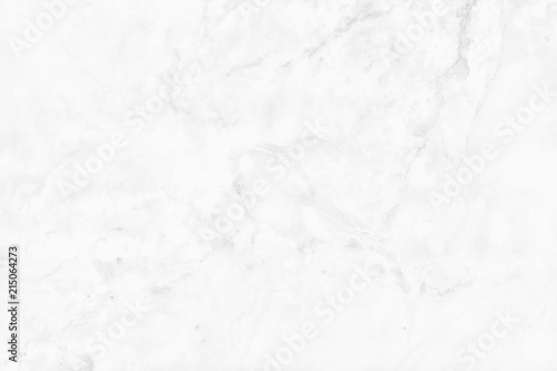 Stickers pour portes Cailloux White background marble wall texture for design art work, seamless pattern of tile stone with bright and luxury.