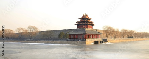 Watchtower, Forbidden City, Beijing, China, Asia