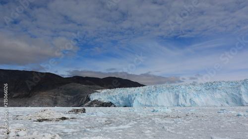 Poster Poolcirkel Greenland Glacier