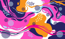 Creative Background , Vector Seamless Pattern Design Colorfull For Print, Brochure, Banner, Poster Etc.