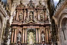 Ornate Side Chapel Of The Virg...