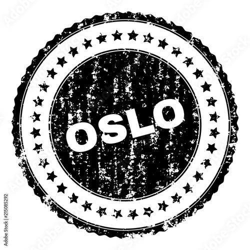 Photo  OSLO seal print with corroded surface