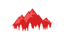 Swiss Alps Vector Illustration, EPS 10