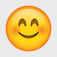 Cute Smiling Emoji