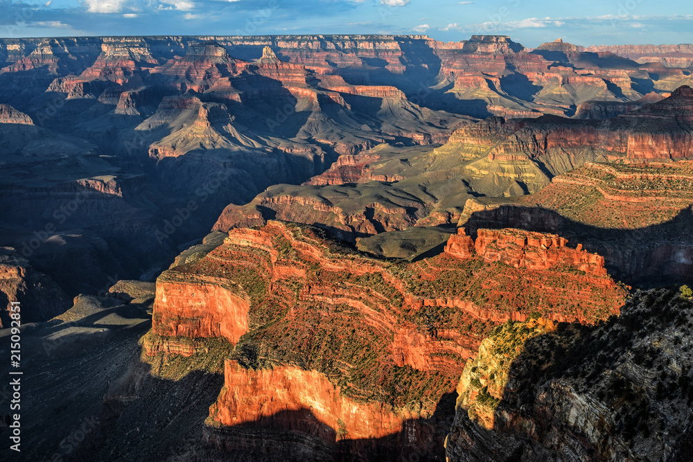 View of the Grand Canyon, Grand Canyon National Park, Arizona, USA, from south rim.