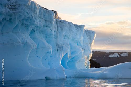 Photo Témpanos en la peninsula Antartica.