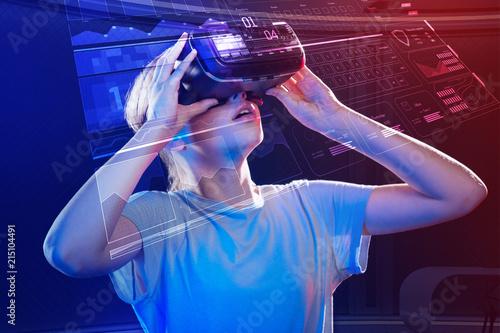 Valokuva  Virtual reality