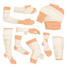 Bandaged Body Parts