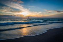 Gulf Coast Sunset In Florida.CR2