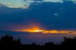 Sunset. Sunset sky.