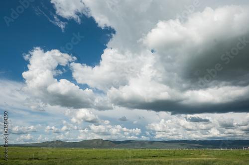 Fotobehang Bleke violet Idaho landscape