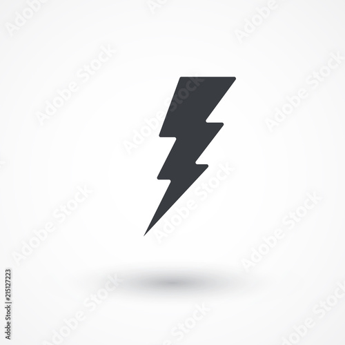 Flash icon  Bolt of lightning  Lightning illustration