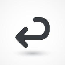Returning Arrow Icon. Return A...