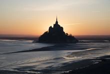Mont Saint-Michel At Sunrise, ...