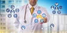 Doctor Providing Specialty Telemedicine Remotely