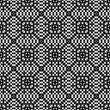 Black white seamless background. Geometric, endless pattern. Simple shapes and lines. Print for bandanas, interior items, scarves, hijabs, print on fabric