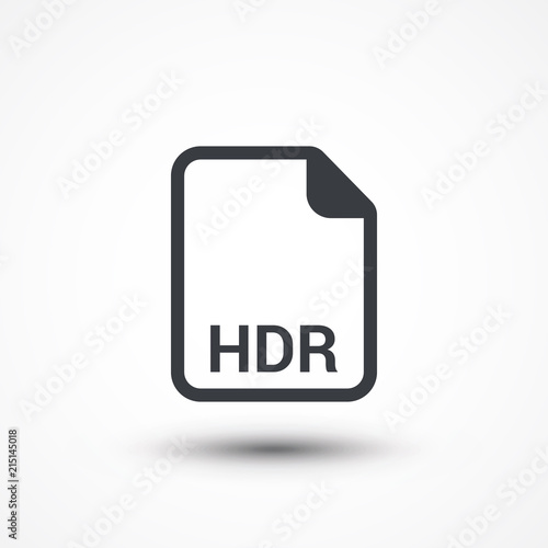 hdr image file extension icon buy this stock vector and explore rh stock adobe com file extension hdf file extension hdrproject