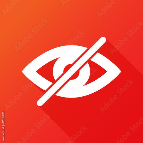 Valokuva  Hide icon eye