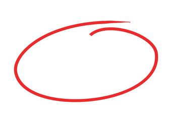 krug olovkom crtati koncept 3d ilustracija izolirana