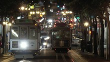 Timelapse Of Cable Car Turnaro...