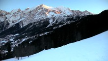 Pan Of Chamonix-Mont-Blanc, Fr...