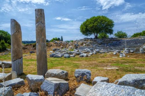 Ruins Of Teos Ancient City Sigacik Seferihisar Izmir Turkey Buy This Stock Photo And Explore Similar Images At Adobe Stock Adobe Stock