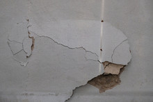 Building Defect - Damaged Wall Paint.