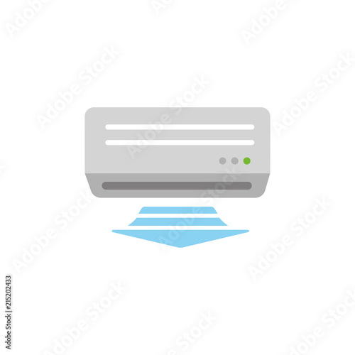 Photo AC ( air conditioner) color illustration