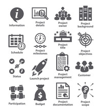Business Management Icons Pack...